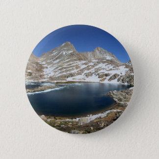 Schwarzes Bear See - Sierra Runder Button 5,1 Cm