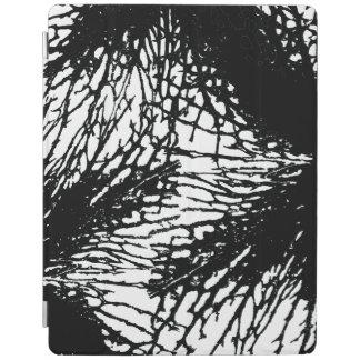 Schwarzes Blume iPad intelligente Abdeckung iPad Smart Cover