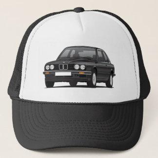 Schwarzes BMW 3 Reihe (E30) Truckerkappe