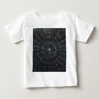 Schwarzes Bullauge (schwarzer Minimalismus) Baby T-shirt