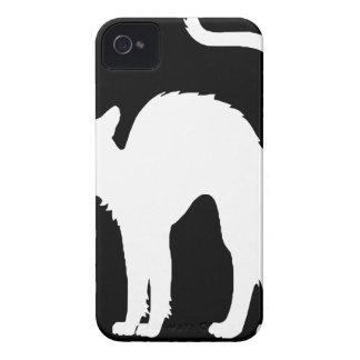 schwarzes cat2 iPhone 4 hüllen