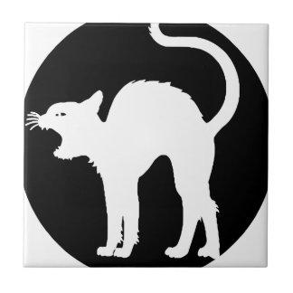 schwarzes cat2 keramikfliese