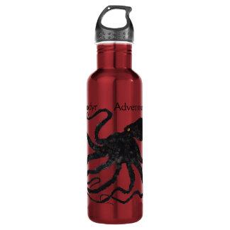 Schwarzes der Kraken-6 auf Rot, Anadyr - 24 Unze. Trinkflasche