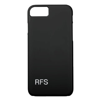 SCHWARZES DES CHIC-IPHONE 7 CASE_CLASSIC iPhone 8/7 HÜLLE