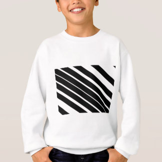 Schwarzes diagonales stripes.gif sweatshirt