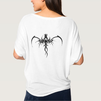 Schwarzes Drache tatto T-Shirt