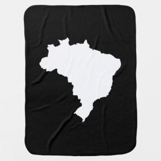 Schwarzes festliches Brasilien bei Emporio Moffa Kinderwagendecke