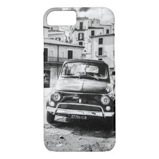 Schwarzes Fiats 500 + Weiß, Rom, Italien, Iphone 6 iPhone 8/7 Hülle