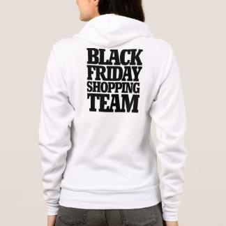 Schwarzes Freitag-Einkaufsteam Hoodie