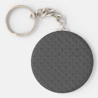 Schwarzes gemustertes abstraktes schlüsselanhänger