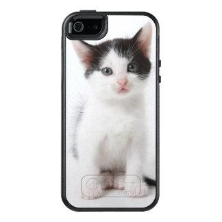 Schwarzes gepunktetes Kätzchen OtterBox iPhone 5/5s/SE Hülle