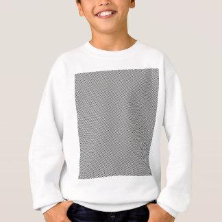 Schwarzes Halbtongitter Sweatshirt