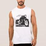 Schwarzes Harley Motorrad Ärmellose T-Shirts