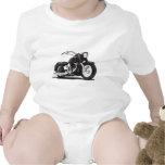 Schwarzes Harley Motorrad Babybodys
