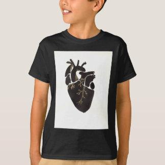 Schwarzes Herz T-Shirt