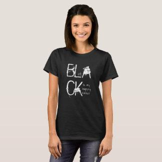 Schwarzes ist meine glückliche Farbe T-Shirt