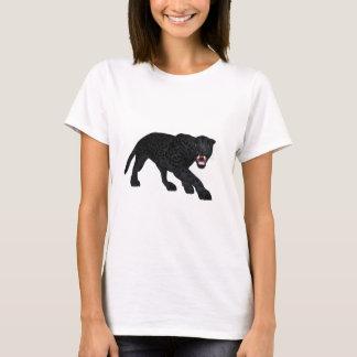 Schwarzes Jaguar T-Shirt
