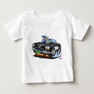 Schwarzes Kabriolett 1958-60 Korvette Baby T-shirt