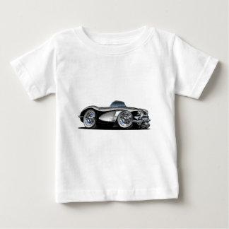 Schwarzes Kabriolett Korvette Baby T-shirt