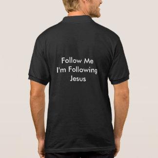 Schwarzes kanzleimäßiges Polo-Shirt (Priester) Polo Shirt
