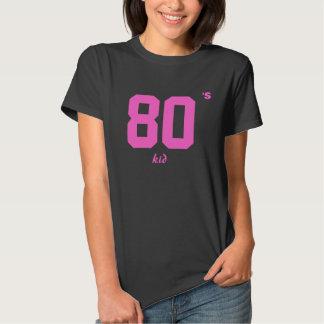 Schwarzes Kind die Achtzigerjahre der Frauen Shirts