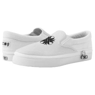Schwarzes Klee-Band Slip-On Sneaker