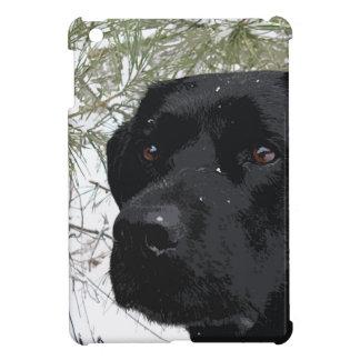 Schwarzes Labrador - Funkelnkiefern iPad Mini Hülle