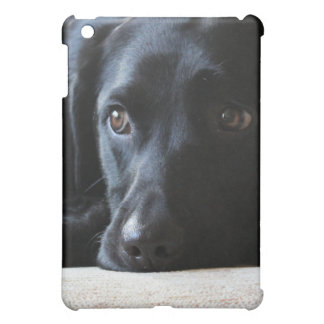Schwarzes Labrador iPad Mini Hülle