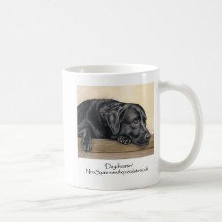 Schwarzes Labrador Kaffeetasse