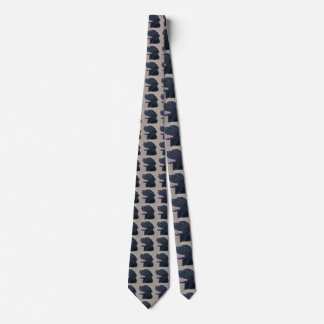 Schwarzes Labrador Krawatte