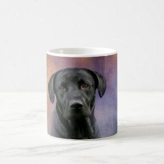 Schwarzes Labrador retriever Kaffeetasse