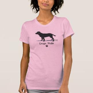 Schwarzes Labrador retriever T-Shirt