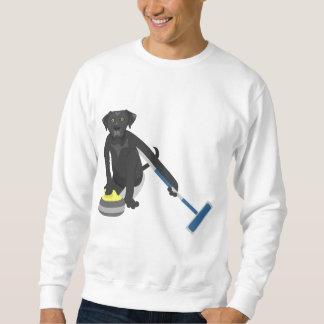 Schwarzes Labrador retriever-Winden Sweatshirt