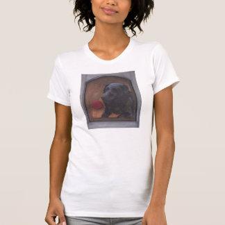 Schwarzes Labrador-T-Shirt T-Shirt