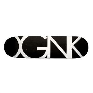 Schwarzes LBL durch OGNK™ Personalisiertes Skatedeck