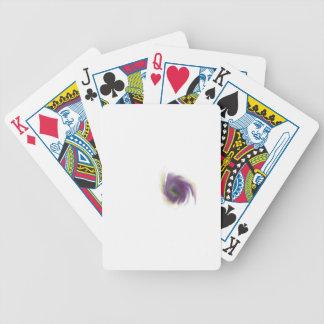 Schwarzes Loch-Blume Bicycle Spielkarten