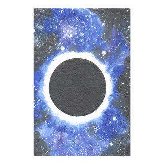 Schwarzes Loch Briefpapier