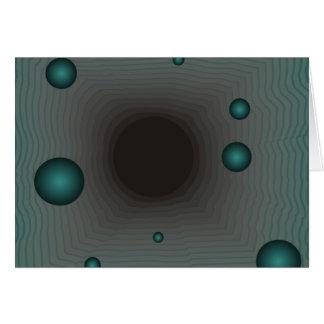 Schwarzes Loch der großen Maschine Karte