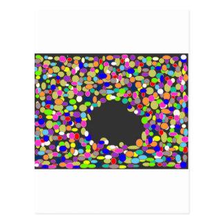 schwarzes Loch Kb 22 das größte schwarze Loch Postkarte