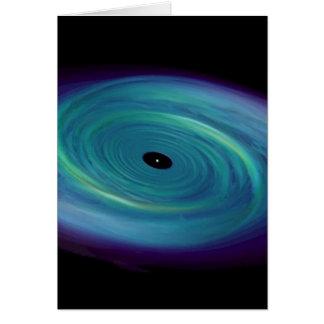 Schwarzes Loch-Krawatte Karte