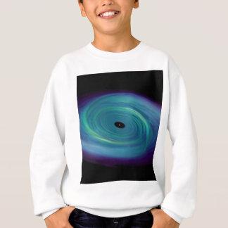 Schwarzes Loch-Krawatte Sweatshirt
