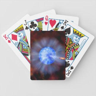 Schwarzes Loch M33 im Raum Bicycle Spielkarten