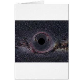 Schwarzes Loch-Milchstraße Karte