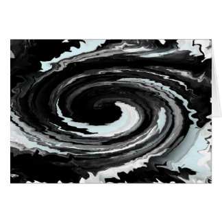 Schwarzes Loch-Spinner Karte