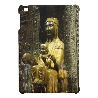 schwarzes madonna Montserrat iPad Mini Hülle