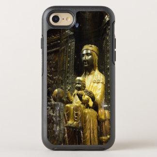 Schwarzes Madonna Montserrat OtterBox Symmetry iPhone 8/7 Hülle