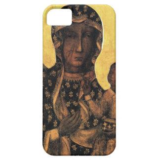 Schwarzes Madonna Polen unsere Dame von Barely There iPhone 5 Hülle