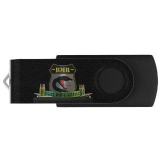 Schwarzes Mamba-Förster USB-Schlüssel USB Stick