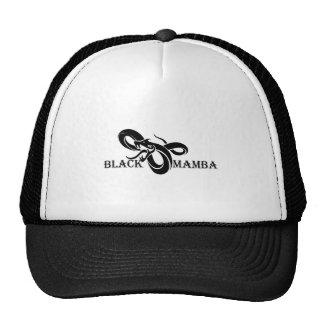 Schwarzes Mamba Retrocap