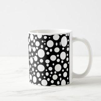 Schwarzes Meer der Blasen-Tasse Tasse